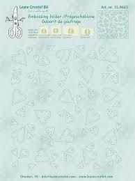 Embossing folder Hearts 14.4x16cm