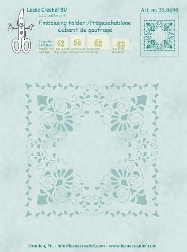 Embossing folder Curlicue 14.4x16cm
