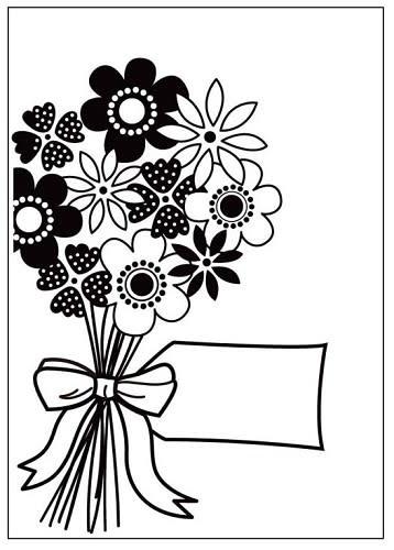 Crafts-Too - Embossingfolder - Flowers bouquet -