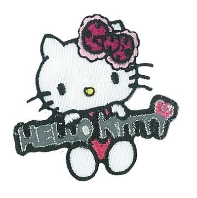 Applicatie Hello Kitty Reflex Pink 48mm