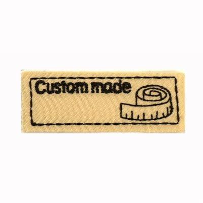 Applicatie Custom Made 55x20mm beige