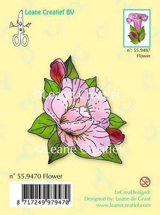 LeCrea - Clear stamp Flower