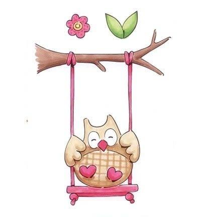 MD Eline`s stempel Owl 1