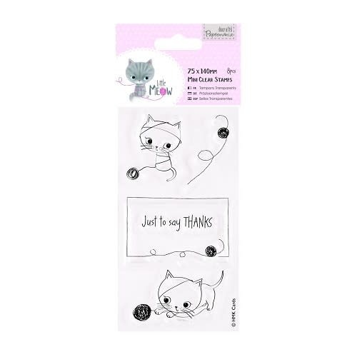 75 x 140mm Mini Clear Stamp - Little Meow - Just to Say