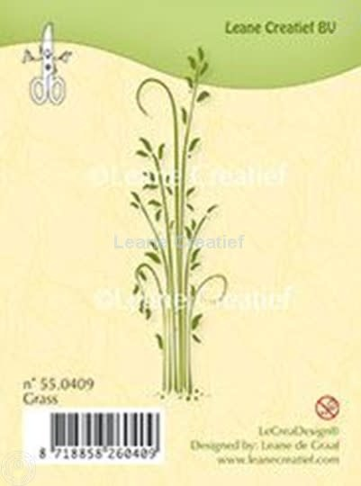 Clear stamp leane creatief grass