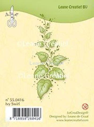 Leane creatief clear stempel ivy swirl