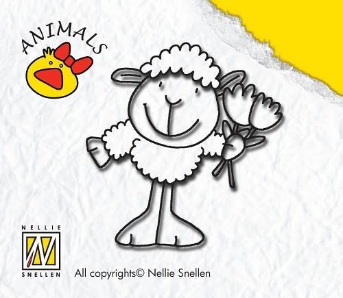 Nellie snellen stempel animals sheep-boy