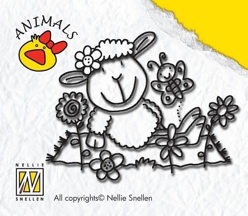 Nellie snellen clear stempel animals sheep-girl