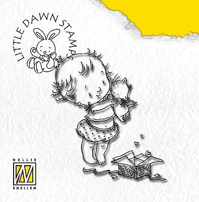 Litte Dawn - Surprised - Nellie Snellen clear stamp
