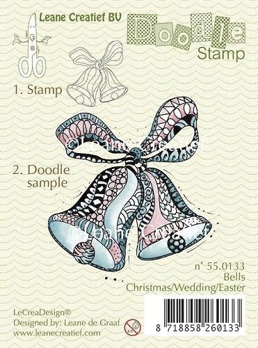 Doodle stamp bells christmas/wedding/easter
