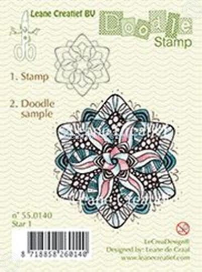 Doodle stamp star 1