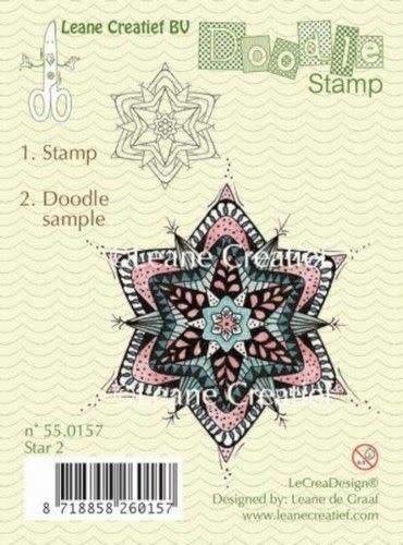 Doodle stamp star 2