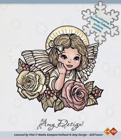 Amy design christmas collection clear stamps