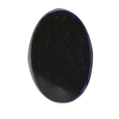 Veiligheidsogen ovaal 10x6 mm zwart