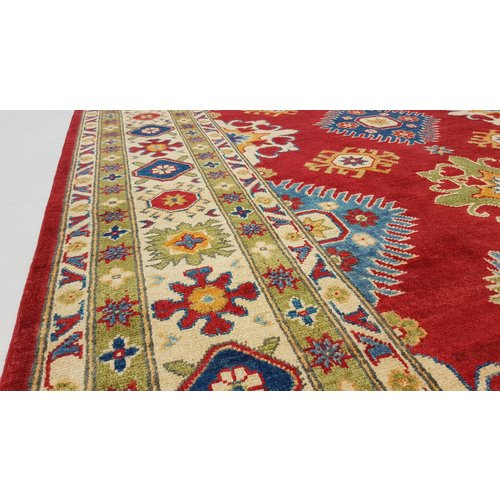 Handgeknüpft wolle kazak teppich 306x247 cm     Orientalisch teppichboden