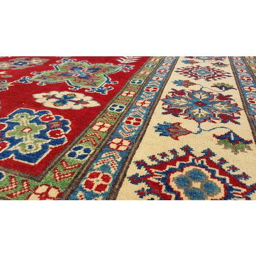 Handgeknoopt kazak tapijt  304x254 cm  oosters kleed vloerkleed