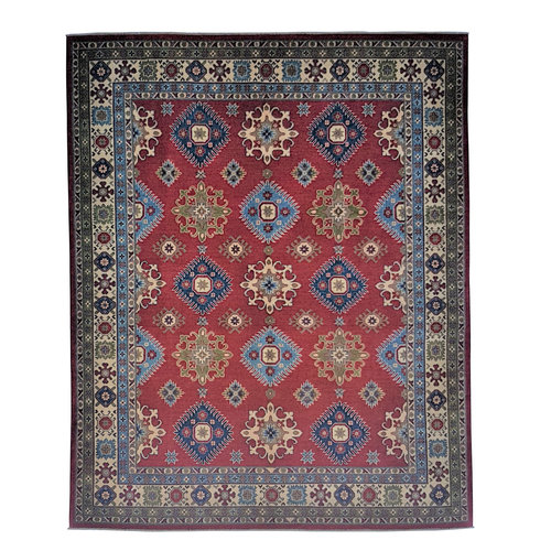 Handgeknoopt kazak tapijt  302x245 cm  oosters kleed vloerkleed