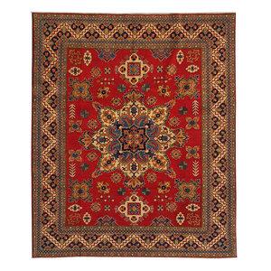 Handgeknüpft wolle kazak teppich 292x245 cm  Orientalisch  teppich