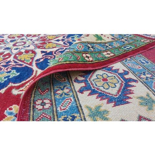 Hand knotted  10'4 x 8'   wool kazak area rug 317x245cm  Oriental carpet
