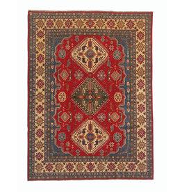 ZARGAR RUGS Hand knotted 10' x 7'11  wool kazak area rug  305x243 cm  Oriental carpet