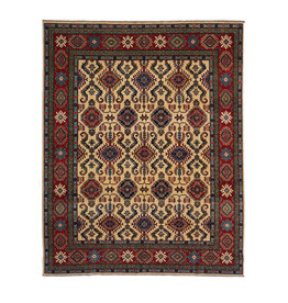 ZARGAR RUGS Hand knotted 10'4 x 7'10  wool kazak area rug  317x241 cm  Oriental carpet