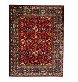 ZARGAR RUGS Hand knotted  9'10 x 7'11 wool kazak area rug 301x243 cm   Oriental carpet