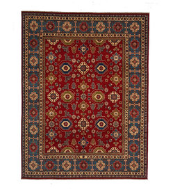 ZARGAR RUGS Handgeknüpft wolle kazak teppich 301x243 cm   Orientalisch  teppich