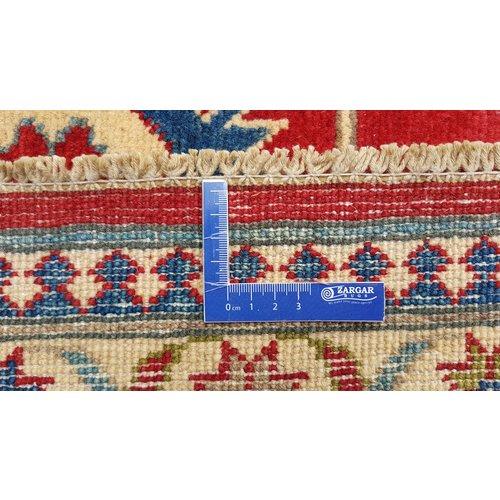 Handgeknüpft wolle kazak teppich 301x243 cm   Orientalisch  teppich