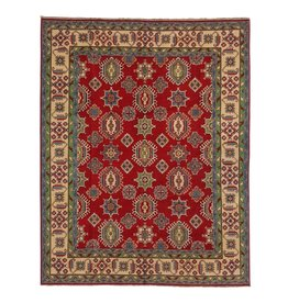 ZARGAR RUGS Hand knotted 10' x 8'4  wool kazak area rug   307x255 cm   Oriental carpet