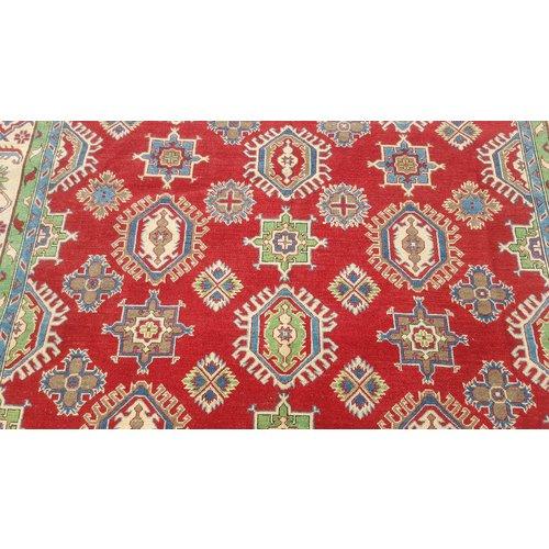 Handgeknoopt kazak tapijt  307x255 cm  oosters kleed vloerkleed