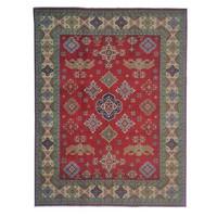 Handgeknüpft wolle kazak teppich 306x246cm   Orientalisch  teppich