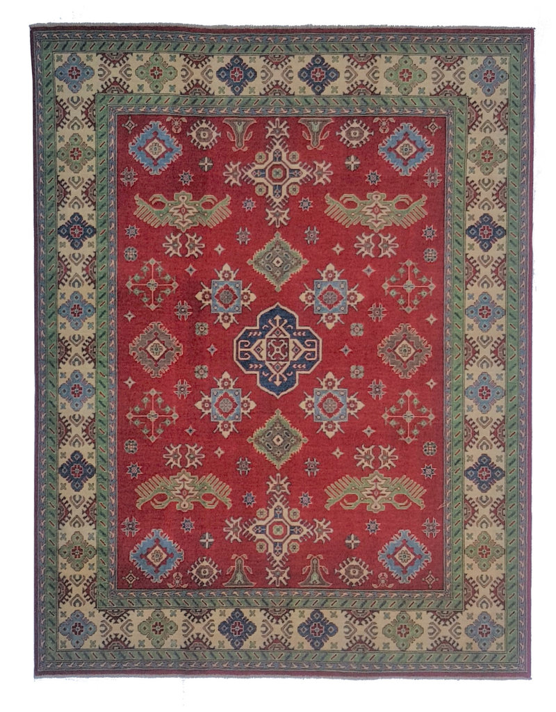 ZARGAR RUGS Handgeknüpft wolle kazak teppich 306x246cm   Orientalisch  teppich