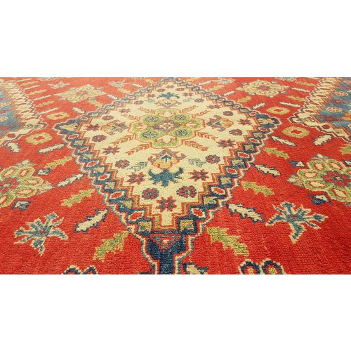 Handgeknoopt kazak tapijt 304x248cm  oosters kleed vloerkleed