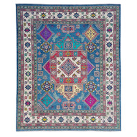 Handgeknüpft wolle kazak teppich 300x256 cm   Orientalisch  teppich