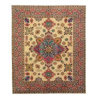 Handgeknüpft wolle kazak teppich 295x255cm   Orientalisch  teppich