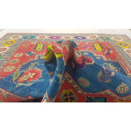 Handgeknoopt kazak tapijt 304x244cm  oosters kleed vloerkleed