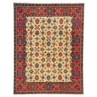 Handgeknoopt kazak tapijt  306x244 cm  oosters kleed vloerkleed