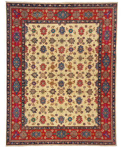 shal Hand knotted  10' x 8' wool kazak area rug  306x244cm  Oriental carpet