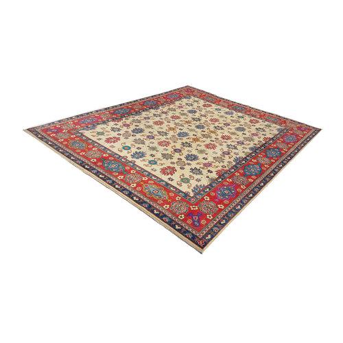 Handgeknüpft wolle kazak teppich 306x244 cm     Orientalisch teppichboden
