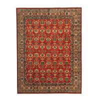Handgeknoopt kazak tapijt 304x245 cm  oosters kleed vloerkleed