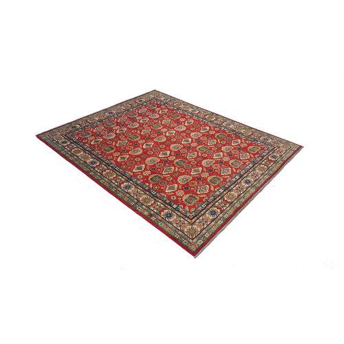 Handgeknoopt kazak tapijt 292x244 cm  oosters kleed vloerkleed
