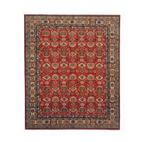 Handgeknüpft wolle kazak teppich 292x244 cm Orientalisch  teppich