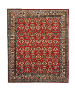 Hand knotted 9'6 x 8'   wool kazak area rug 292x244  cm   Oriental carpet