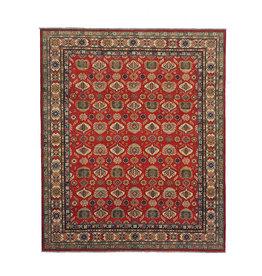 ZARGAR RUGS Hand knotted 9'6 x 8'   wool kazak area rug 292x244  cm   Oriental carpet
