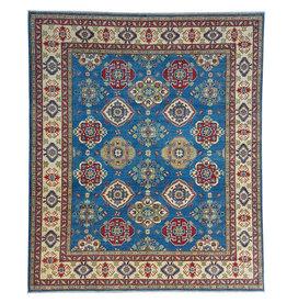 ZARGAR RUGS Hand knotted  9'8x8'2  wool kazak area rug  295x250 cm   Oriental carpet