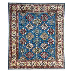 Handgeknoopt kazak tapijt 295x250 cm  oosters kleed vloerkleed