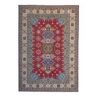 Hand knotted  8'75x6'10  wool kazak area rug 267x186 cm  Oriental carpet