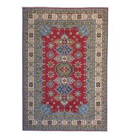 ZARGAR RUGS Handgeknoopt kazak tapijt 267x186 cm oosters kleed vloerkleed