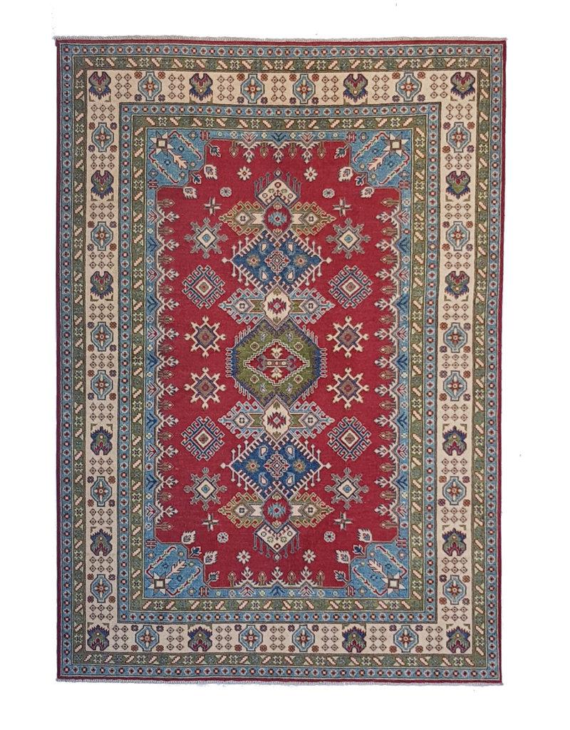 ZARGAR RUGS Handgeknüpft wolle kazak teppich  267x186 cm Orientalisch  teppich
