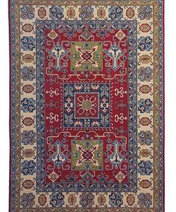 Hand knotted  9'7x6'5  wool kazak area rug  297x199 cm   Oriental carpet